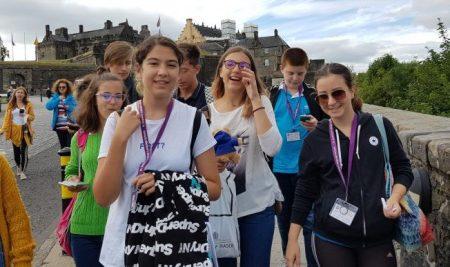 Invata limba engleza in tabara de grup cu insotitor la University of Stirling din Scotia